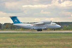 Antonov ένας-74 απογείωση Στοκ Φωτογραφία