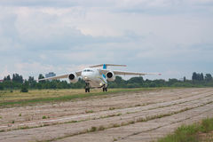 Antonov ένας-148 περιφερειακό αεροπλάνο Στοκ φωτογραφίες με δικαίωμα ελεύθερης χρήσης