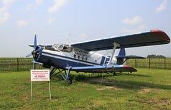 Antonov ένας-2 στο μουσείο της τεχνολογίας Στοκ Φωτογραφίες
