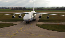 Antonov ένας-124 Ruslan Στοκ Εικόνα
