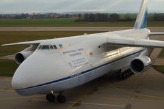 Antonov ένας-124 Ruslan Στοκ Εικόνες