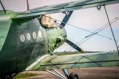 Antonov ένας-2 αεροπλάνο Στοκ Φωτογραφία