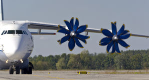 Antonov ένας-70 αεροσκάφη μεταφορών Στοκ φωτογραφία με δικαίωμα ελεύθερης χρήσης