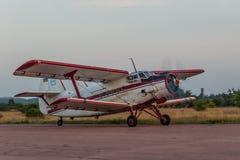 Antonov ένας-2 biplane Στοκ Φωτογραφία