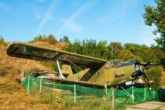 Antonov ένας-2 biplane Στοκ Εικόνες