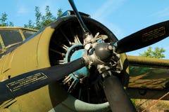 Antonov ένας-2 biplane Στοκ Φωτογραφίες