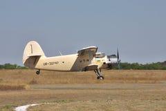 Antonov ένας-2 biplane Στοκ φωτογραφίες με δικαίωμα ελεύθερης χρήσης