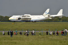 Antonov ένας-225 Mrija Στοκ Εικόνα