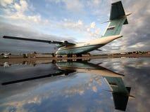Antonov ένας-72 RA-72011 της ομοσπονδιακής ασφάλειας servicce που στέκεται Στοκ εικόνα με δικαίωμα ελεύθερης χρήσης