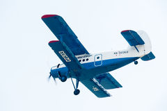 Antonov ένα αεροπλάνο 2 flyes Στοκ φωτογραφία με δικαίωμα ελεύθερης χρήσης