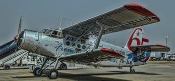 Antonov 2 ρωσικό biplane Στοκ φωτογραφίες με δικαίωμα ελεύθερης χρήσης