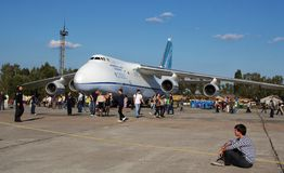 Antonov An-124 Stock Photo