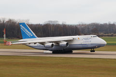 Antonov AN-124 Ruslan Stockfotos
