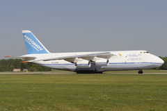 Antonov AN-124 Ruslan Photo libre de droits