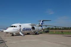 Antonov An-158 Imagenes de archivo