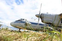 Antonov AN-26 Foto de Stock Royalty Free