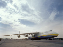Antonov 225 Foto de Stock