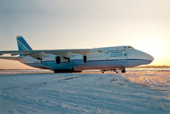 Antonov An-124 免版税库存照片