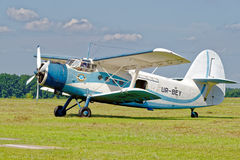 Antonov An-2 aircraft Stock Photo