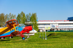 The Antonov An-2 aircraft stock photos