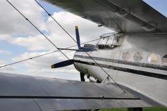 Antonov AN2. Sport aeroplane Antonov AN2 ready for take-off stock photo