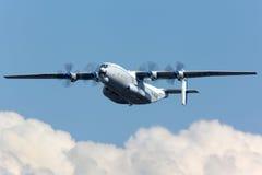 Antonov An-22 Antei pokazywać przy 100 rok rocznicy Rosyjskie siły powietrzne w Zhukovsky Zdjęcie Royalty Free