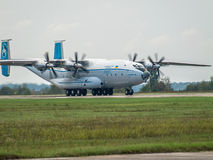 Antonov An-22 cargo plane Royalty Free Stock Images