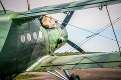 Antonov een-2 vliegtuig Stock Fotografie