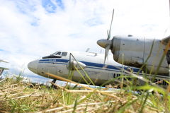 Antonov een-26 Royalty-vrije Stock Foto