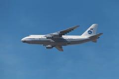 Antonov een-124-100 Stock Afbeeldingen