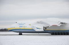 Antonov een-225 Mryja stock foto's