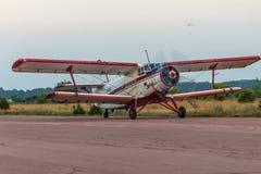 Antonov een-2 tweedekker Stock Afbeeldingen
