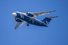 Antonov en 148 100e, Ryssland, cska moscow för ishockeylag Arkivfoto