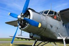 antonov för 2 flygplan Arkivfoton