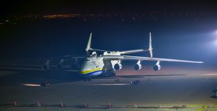 Antonov 225 Mriya Immagine Stock