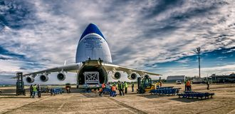 Antonov 225 Mriya Imagens de Stock Royalty Free