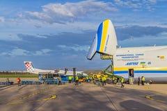 Antonov 225 Mriya Foto de archivo libre de regalías