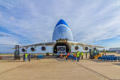Antonov 225 Mriya Στοκ εικόνα με δικαίωμα ελεύθερης χρήσης