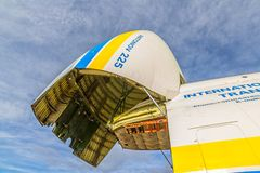 Antonov 225 Mriya Στοκ Φωτογραφίες