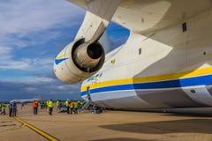 Antonov 225 Mriya Imágenes de archivo libres de regalías