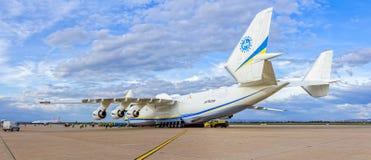 Antonov 225 Mriya Foto de Stock