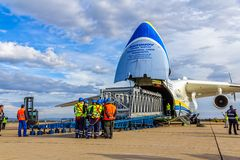 Antonov 225 Mriya Fotos de Stock