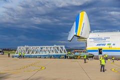 Antonov 225 Mriya Fotografía de archivo libre de regalías