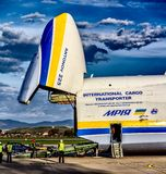 Antonov 225 Mriya Royalty Free Stock Images