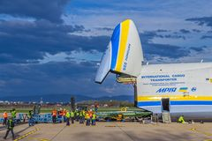 Antonov 225 Mriya Stock Photos