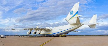 Antonov 225 Mriya Stock Photo