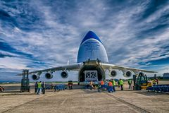 Antonov 225 Mriya Stock Photography