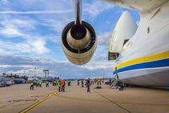 Antonov 225 Mriya Stock Photo