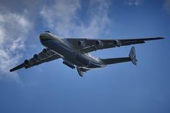 Antonov An-225 no final imagens de stock
