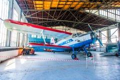 Antonov An-2 på skärm Arkivfoto
